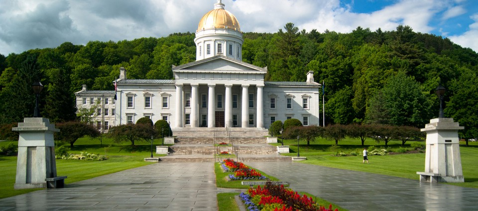 Vermont State House in Montpelier
