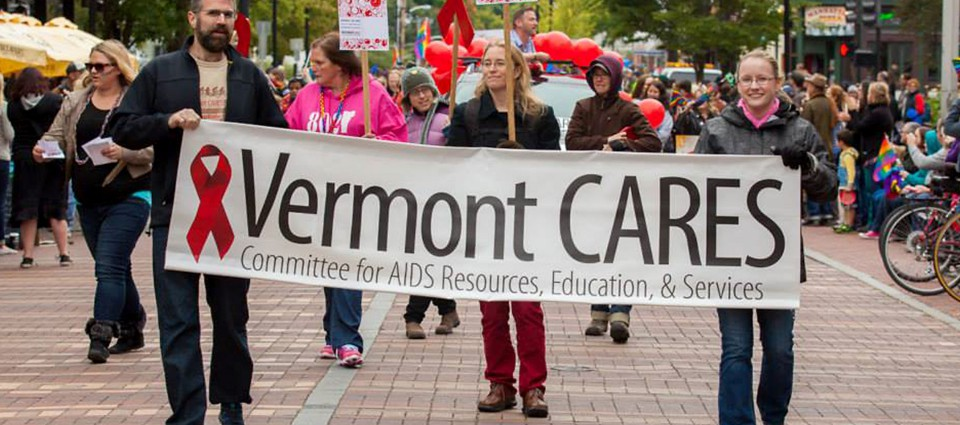 Vermont CARES marching