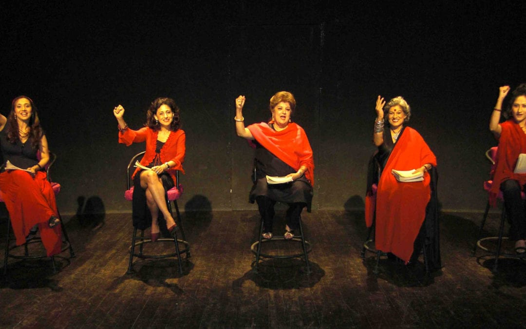 "February 2012: A tribute to the play, ""The vagina monologues"", by Eve Ensler:  – In a time of AIDS"