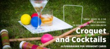 Croquet & Cocktails invitation