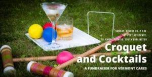 Croquet & Cocktails invitation