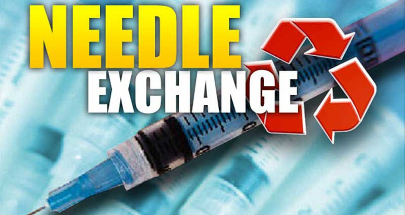 needle exchange programs Needle-exchange programs like shot in the dark provide safe access to syringes  and dispose of drug paraphernalia they are also illegal in.