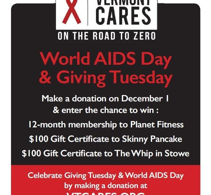 World AIDS Day and Giving Tuesday